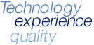 Technology, experience, quality